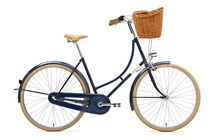 Creme Holymoly Solo Stadsfiets Dames 3-Speed blauw